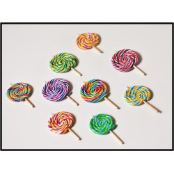Collier lollipop - Différents modèles