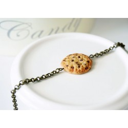 Cookie bracelet – Food jewelry in polymer clay