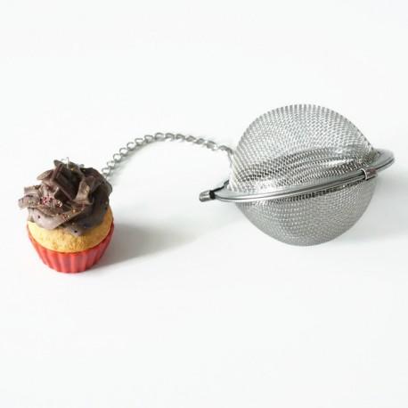 Boule à thé cupcake