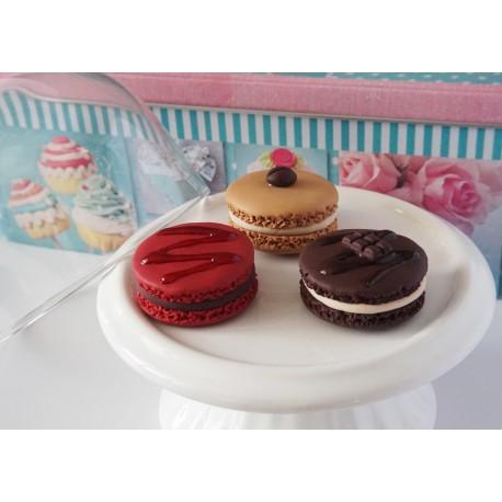 Porte-clés Macaron - Différents modèles et couleurs - Personnalisable
