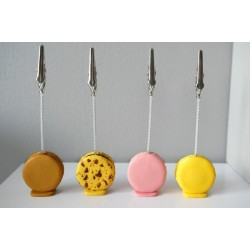 Macaroon picture holder / name place holder