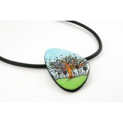 Collier arbre féérique - forêt enchantée