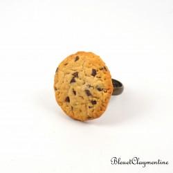 Bague cookies et pépites de chocolat