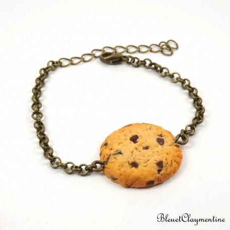 Bracelet cookies chocolat