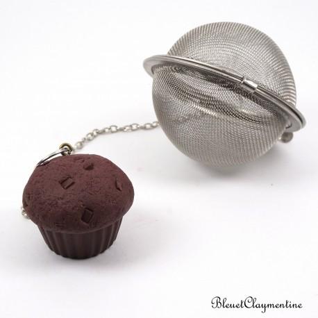 Cupcake tea ball