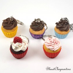 Cupcake keychain - Different models available