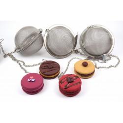 Boule à thé macaron - Différents modèles disponibles