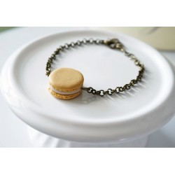 Macaroon bracelet – Different colors and models – Food jewelry in polymer clay